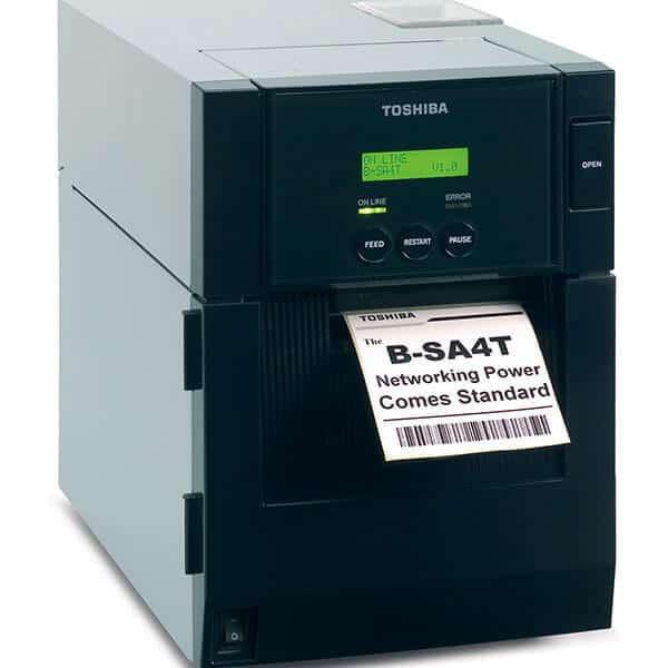 Thermotransferdrucker AS4TP-M Ektikettenrolle 6 | MSM Kennzeichnungssysteme
