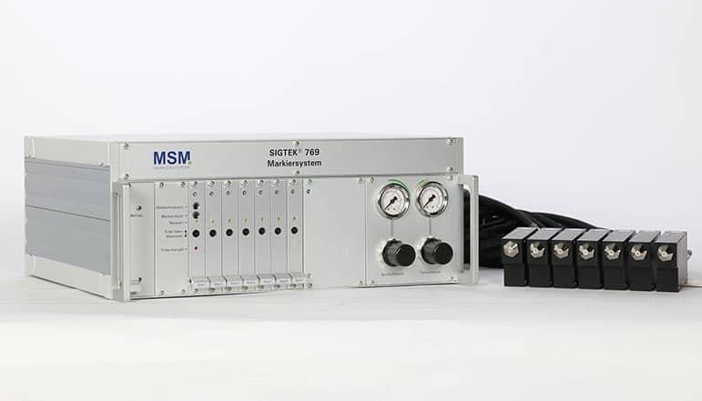 SG14 03a Rackgehaeuse Farbmarkiersystem| MSM Markiersysteme Kennzeichnungssysteme