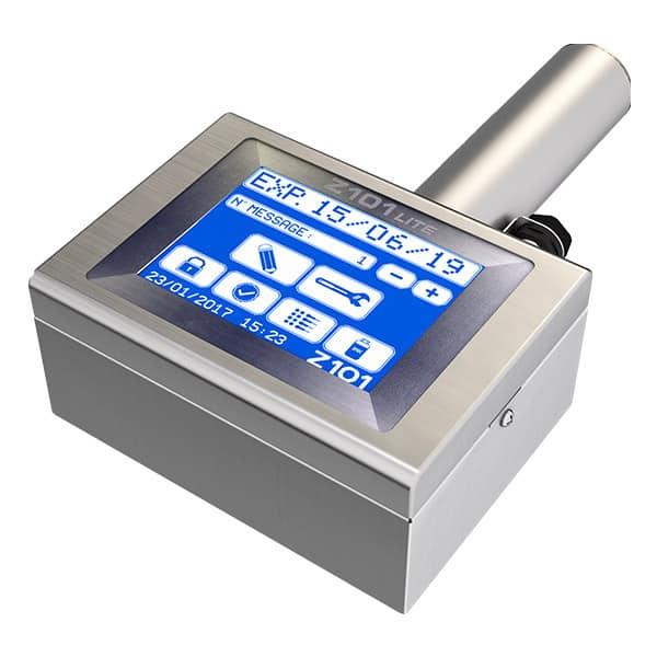 Z101-Lite Großschriftdrucker 7-Düsen Menue 2   MSM Markiersysteme