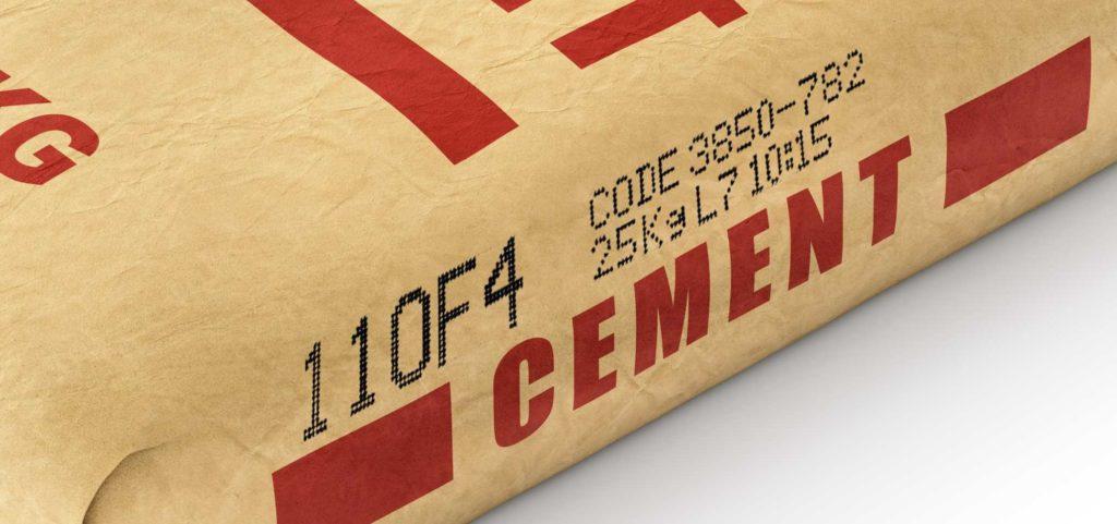 16-Dot Schreibkopf Großschriftdrucker Muster 2   MSM Kennzeichnungssysteme Beschriftungssysteme
