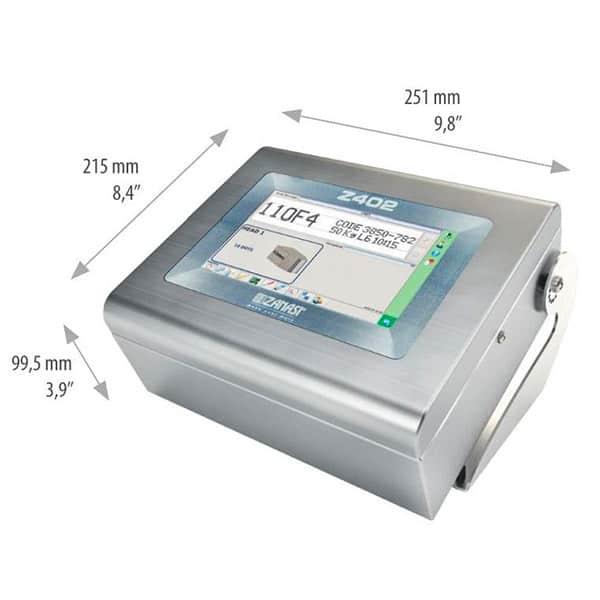 Z402 Großschriftdrucker Tintenstrahldrucker 7-16-Düsen   MSM Markiersysteme