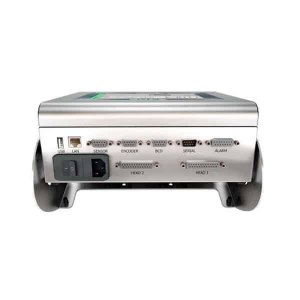 Z402 Großschriftdrucker Tintenstrahldrucker Rückseite   MSM Markiersysteme