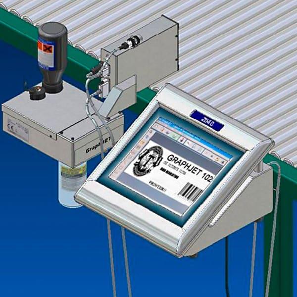 Z640 Tintenstrahldrucker 01 Kleinschriftdrucker Small Characters Printer | MSM Markiersysteme