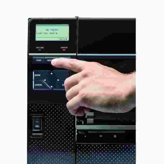 Thermotransferdrucker Industriedrucker Menue | MSM Kennzeichnungssysteme