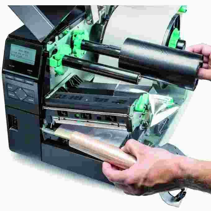 Thermotransferdrucker Industriedrucker Folie 1 | MSM Kennzeichnungssysteme