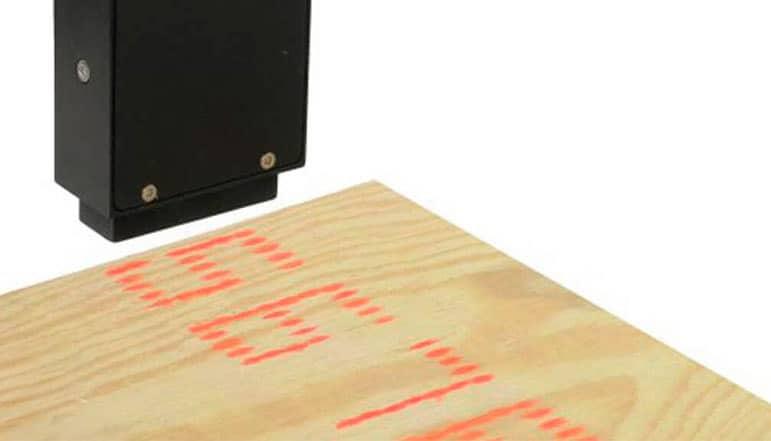 Großschrift Tintenstrahldrucker 7-Düsen Holz | MSM Markiersysteme
