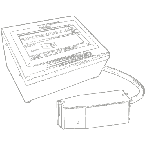 Großschrift Tintenstrahl Drucker mit Schreibkopf | MSM Markiersysteme
