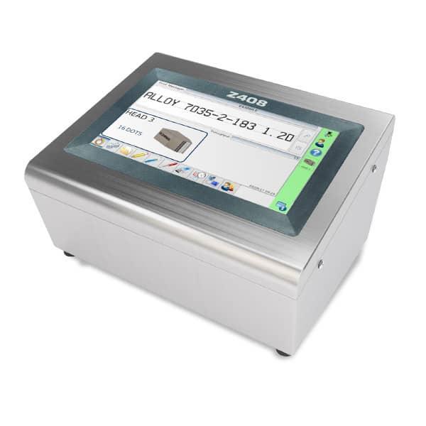Z408 Großschriftdrucker Tintenstrahl | MSM Markiersysteme Kennzeichnungssysteme