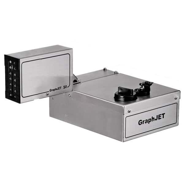 Schreibkopf Graphjet51 600 hochaufloesend Kleinschriftdrucker Tintenstrahldrucker SCP | MSM Markiersysteme Kennzeichnungssysteme