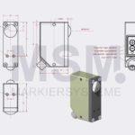 LMT4-F1 EN Skizze Sensor Fluoreszenz optisch | MSM Markiersysteme Kennzeichnungssysteme
