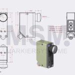 LMT4-F2-200 Skizze EN Sensor Fluoreszenz optisch | MSM Markiersysteme Kennzeichnungssysteme