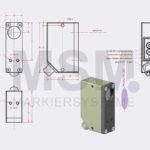 LMT4-F1 EN Skizze Sensor Fluoreszenz optisch 2 | MSM Markiersysteme Kennzeichnungssysteme