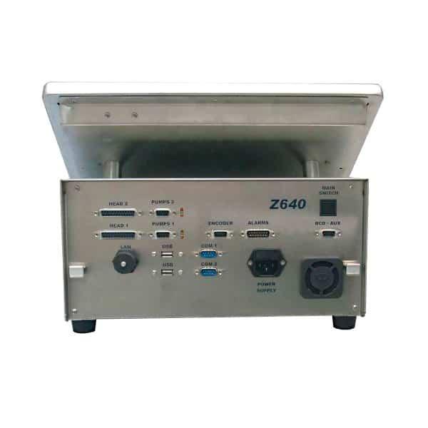 Z640 hochaufloesend Back 600 Kleinschriftdrucker Tintenstrahldrucker SCP | MSM Markiersysteme Kennzeichnungssysteme